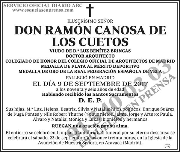 Ramón Canosa de los Cuetos